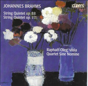 Brahms - String Quintets Op.88 and Op.111 - Quartet Sine Nomine - R. Oleg-Quartet
