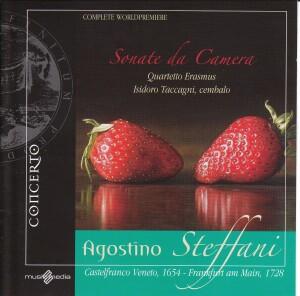 Agostino Steffani -Chamber Sonatas, Quartetto Erasmus, I. Taccagni, harpsichord-Chamber Music