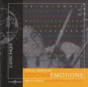 Strong Emotions on Classic Contemporary Guitar - Giulio Tampalini, guitar-Guitar Music-Contemporary music