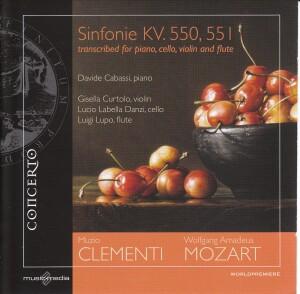 Muzio Clementi - W.A. Mozart:Sinfonie KV. 550, 551-Piano