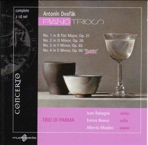 A. Dvorak - Piano Trios - TRIO DI PARMA-Trio-Chamber Music