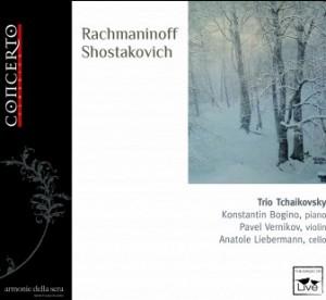 Rachmaninov - Shostakovich - Chamber music -Trio Tchaikovsky-Trio