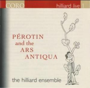 Pérotin and the Ars Antiqua -Diapason d'Or winner May 2007- Hilliard Ensemble-Ars Antiqua