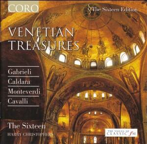 Venetian Treasures - Gabrieli, Caldara, Monteverdi, Cavalli - The Sixteen, H. Christophers-Choir-Sacred Music