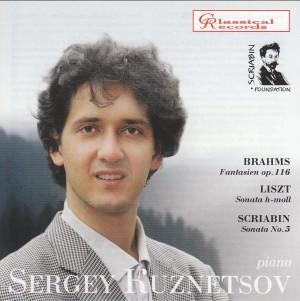 Sergei Kuznetzov, piano. Brahms, Liszt, Scriabin.-Piano-Scriabin Foundation