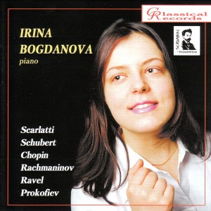 Irina Bogdanova, piano - Scarlatti, Schubert,  Chopin,  Rachmaninov...-Piano-Scriabin Foundation