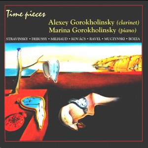 Time pieces - Valery and Marina Gorokholinsky - clarinet and piano-Piano and Clarinet-Chamber Music