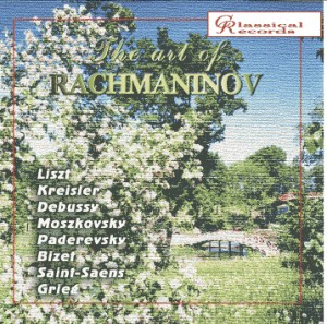 The art of Rachmaninov, Vol.3 -  Rachmaninov, Liszt, Kreisler, Debussy,  Paderewski, etc...-Piano-Historical Recordings