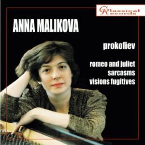 Prokofiev - Anna Malikova, piano  -Piano-Instrumental