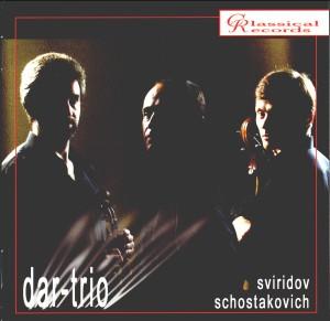 DAR-trio - Shostakovich, Sviridov-Piano and Cello