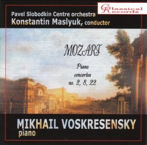 Mozart: Piano concertos No. 2, 8, 22  Vol. 7 - Mikhail Voskresensky-Piano