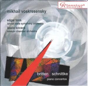 Mikhail Voskresensky - Britten - Schnittke-Piano