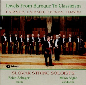 Jewels From Baroque To Classicism -  J. Stamitz, J. S. Bach, F. Benda, J. Haydn-String instruments-Baroque