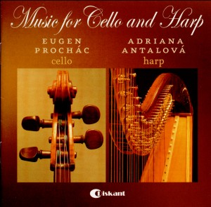 Music for Cello and Harp-Cello-Chamber Music