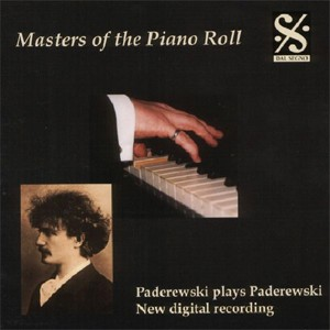 Masters of the Piano Roll, Vol. 2 - Paderewski plays Paderewski-Piano