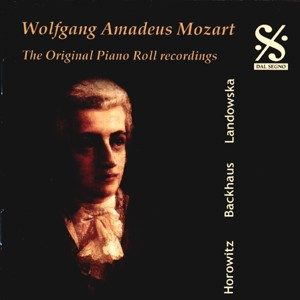 W. A. Mozart - The Original Piano Recordings-The Great Pianists-Masters of the Piano Roll