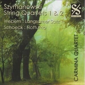 Szymanowski - String Quartets Nos 1, 2 - Webern - Langsamer Satz Schoeck - Notturno-Quartet-Chamber Music