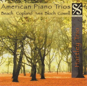 American Piano Trios: Beach, Ives, Bloch, Copland, Cowell-Piano and Cello