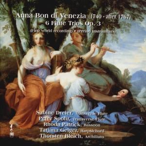 Anna Bon di Venezia, 6 Flute Trios, Op.3 - Period instruments-Chamber Ensemble-Chamber Music