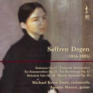 SOFFREN DEGEN -Cello and Guitar-Chamber Music