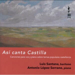 Así canta castilla-Vocal and Piano-Vocal Collection