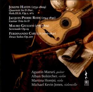 J. HAYDN - J.P. RODE - M.GIULIANI - F. CARULLI-Cello and Guitar-Chamber Music