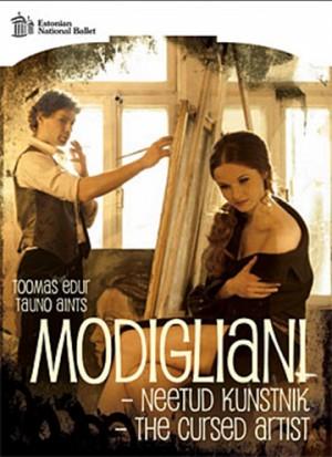 THOMAS EDUR - TAUNO AINTS - MODIGLIANI − THE CURSED ARTIST - ESTONIAN NATIONAL BALLET-World Premiere Recording