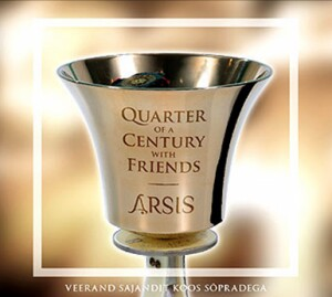 ARSIS - QUARTER OF A CENTURY WITH FRIENDS-Voice and Ensemble-Vocal Collection