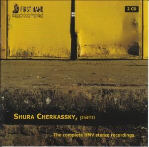 Shura Cherkassky - The Complete HMV Stereo Recordings -Piano-Chamber Music