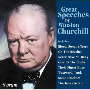 Winston Churchill - Great Speeches-Spoken word