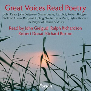 Great Voices Read Poetry - R.Richardson, J.Betjeman, J. Gielgud, T.S. Eliot, etc...-Spoken word
