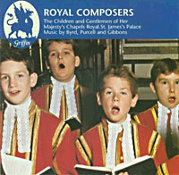 Royal Composers - Children & Gentlemen of the HM Chapels Royal.-Choral Collection