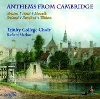 Anthems from Cambridge - From one of the best-loved choirs in Cambridge under the tenure of R. Marlow-Choir-Sacred Music