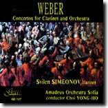 Carl Maria von Weber - Concertos for Clarinet and Orchestra - Svilen SIMEONOV, clarinet-Clarinet
