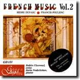 FRENCH MUSIC - Vol. 2 - HENRI DUPARC - FRANCIS POULENC - Robin Clavreul, cello - Boris Nedeltchev, piano-Piano and Cello-Instrumental