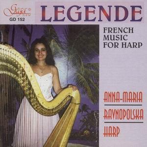 Legende -French Music for Harp-Harp-Instrumental