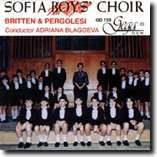 SOFIA BOYS' CHOIR - BRITTEN & PERGOLESI-Choir-Choral Collection
