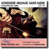 THREE CONCERTOS FOR CELLO - HONEGGER - MILHAUD -SAINT-SAENS-Cello-Cello Collection