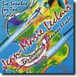 JEAN-MARIE LECLAIR - Six sonatas for Two Violas, Op.12 - Dimitar Penkov & Johannes Flieder-Viola-Instrumental