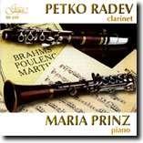 PETKO RADEV, clarinet, MARIA PRINZ, piano -Piano and Clarinet-Instrumental