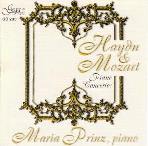 HAYDN & MOZART - PIANO CONCERTOS - Maria PRINZ, piano-Piano