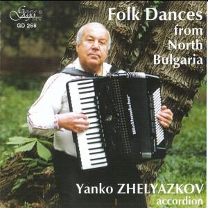 FOLK DANCES FROM NORTH BULGARIA - Janko SHELYAZKOV, accordion-Folk Music-Traditional