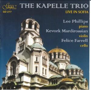 THE KAPELLE TRIO LIVE IN SOFIA-Piano and Cello