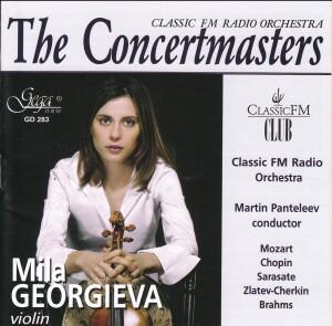 THE CONCERTMASTERS - MILA GEORGIEVA, violin -Violin-Instrumental