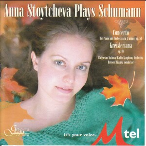 Stoytcheva Plays Schumann - Concerto for Piano and Orchestra in A minor, Op.54, Kreisleriana, Op.16 -Piano
