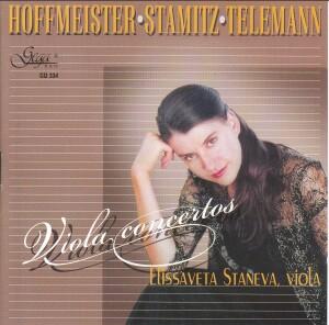 HOFFMEISTER, STAMITZ, TELEMANN - Viola concertos - E.Staneva, viola -Viola-Chamber Music