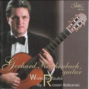 GERHARD REICHENBACH, guitar - Works for Guitar -Guitar-Instrumental