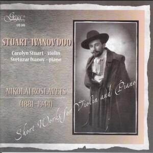 STUART- IVANOV DUO-Violin