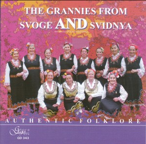 THE GRANNIES FROM SVOGE AND SVIDNYA - AUTHENTIC FOLKLORE-Folk Music-Traditional