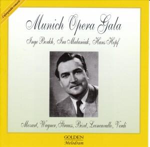 MUNICH OPERA GALA - I. Borkh, I. Malaniuk, H. Hopf, H. Stein - Mozart, Verdi, Bizet, etc...-Opera Collection